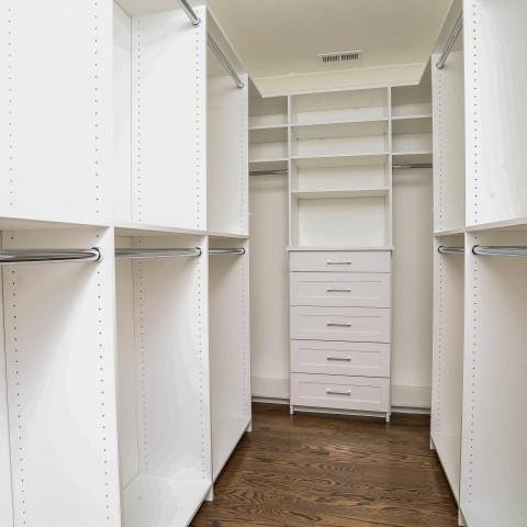 Classic White Closet