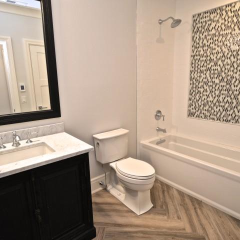 4V basement bath