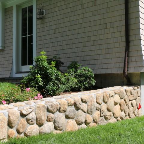 4V stonework